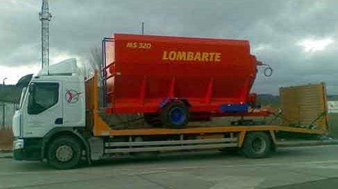 servicio de transporte de maquinaria agricola