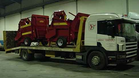 transporte de maquinaria agricola valladolid