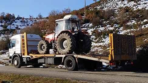 servicios transporte agricola