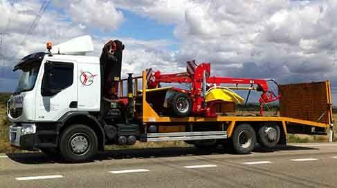 transportes maquinarias agricolas