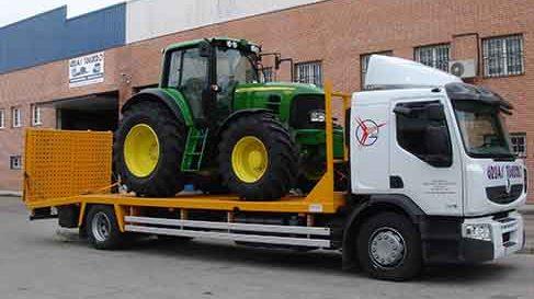 transporte maquinaria agricola valladolid