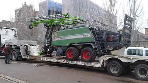 transportes maquinaria agricola valladolid