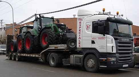 transportes de maquinarias agricolas en valladolid