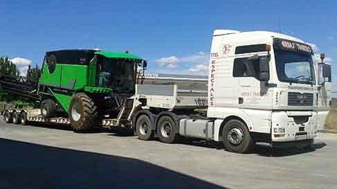 transportes de maquinarias agricolas
