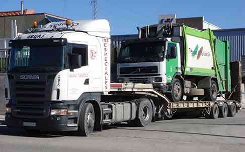 transporte de camion