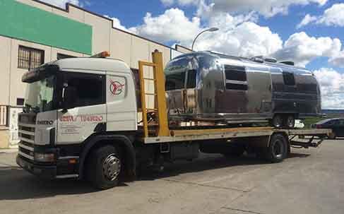transporte caravanas