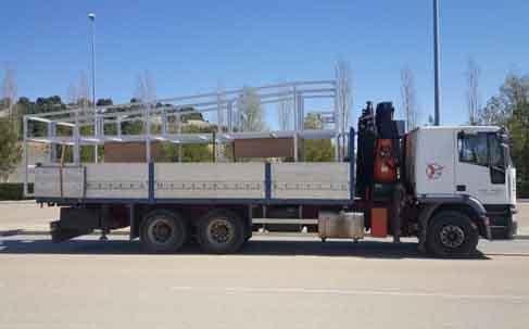 Servicio Transporte de Estructuras Valladolid