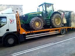 transporte tractor