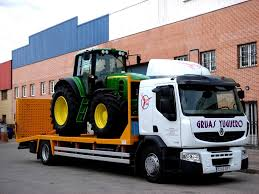 transportes de tractor