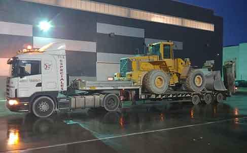 Transportes especiales cargas pesada