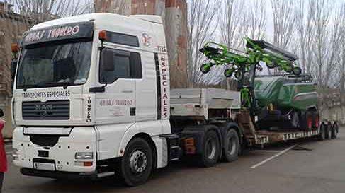 Transportes Especiales de mercancías y cargas