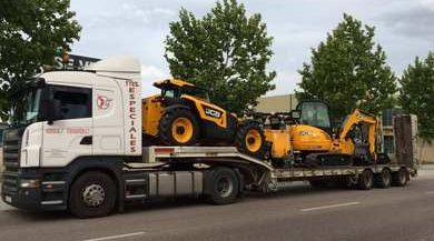 empresa transporte maquinaria pesada